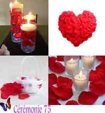 LOT DE 250 PETALES de Roses ROUGE décoration MARIAGE CEREMONIES FETES
