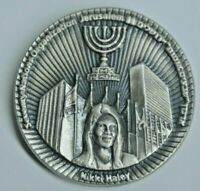2019 new Temple Coin Half Shekel Nikki Haley Sanhedrin Court Jewish Israel WOW