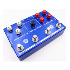 NEW MOSKY 4 effects in 1 AMP Simulate/LOOP/Clean Booster/delay true bypass