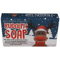 Christmas Soap Gift Collection Bath, Bubble & Beyond Wrapped Body Bars 120g