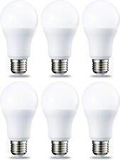 AmazonBasics Bombilla LED Esférica E27, 14W (equivalente a 100W), Blanco Cálido