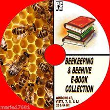 Massiccia collezione di rara antica e moderna 50 + apicoltura libri su CD-ROM NUOVO