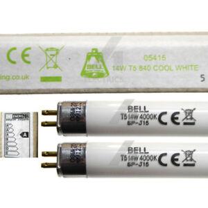 "2 x 14w 22"" 549mm T5 Fluorescent Tube Cool White Strip Light Lamp 14 Watt BELL"