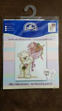 DMC BL852/54 Lickle Ted - With a Lickle Affection Counted Cross Stitch Kit