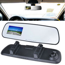 "2.7"" LCD HD 1080P Camera Car Vehicle DVR Cam Dash Video Recorder Rearview Mirror"
