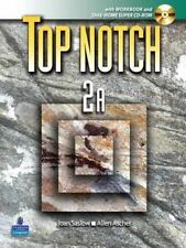 *BRAND NEW* TOP NOTCH 2A English for Today's World with WORKBOOK & SUPER CD ROM
