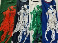 Polo Ralph Lauren Sport Mens Big Pony Short Sleeve Polyester Round Neck T Shirt