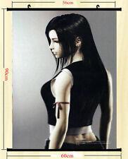 Final Fantasy Hot Game Art Silk Wall Scroll Poster 60x90cm Tifa Lockhart