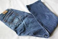 Ladies Tommy Hilfiger Neo Flare Retro Worn Blue Jeans W30 L30