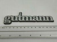 ⭐🇫🇷 NEUF MONOGRAMME GUTMANN pour COFFRE PEUGEOT 205 GTI LOGO BADGE EMBLÊME MED