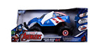 NEW! Marvel Captain America Shield Attack RC Vehicle 1:14 Scale - Blue