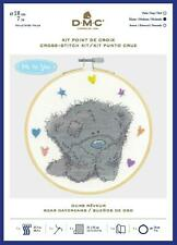 DMC Me to you Tatty Teddy  Counted Cross Stitch Kit - Bear Daydreams - Includes