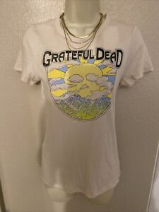 NEW Urban Outfitters Chaser Gratfeful Dead Graphic Tee Shirt Top Boho Chic  Sz M