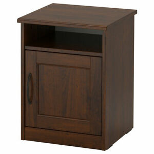 IKEA SONGESAND bedside table 42x40x55 cm brown