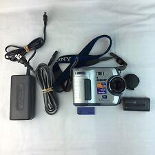 Sony FD Mavica Dual Media 1.2 Mega Pixels Camera Vintage Works Vintage