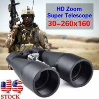 30-260x160 Zoom Binoculars 168FT/1000YDS Full Coated Optics Telescope US Stock