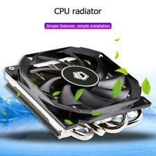 Mute CPU Fan Cooler Heatsink 4 Heatpipes Computer Cooling Radiator for Intel/AMD