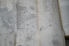 GUIDE DU VOYAGEUR CATHOLIQUE A ROME-DE BLESER ILLUSTRE 1870 RELIURE