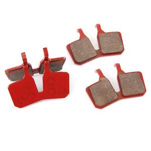 4 x Halbmetallisch Bremsbelag MT-Scheibenbremse 4 Kolben für Magura MT5 und MT7