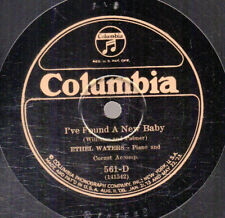 6g5.  Ethel Waters - I Found a New Baby & Tell 'Em About Me - Columbia 561-D