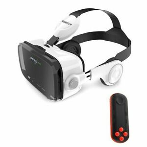 VR Z4 Glasses with Bluetooth Remote Google Cardboard Box Pro for Iphone Android