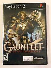 Gauntlet Seven Sorrows - Playstation 2 - Replacement Case - No Game