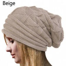Women Summer Spring Winter Crochet Knit Slouchy Beanie Beret Cap Men Ski Hat