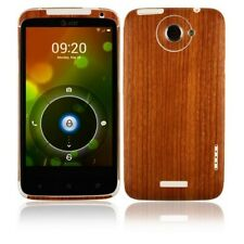 Skinomi Light Wood Full Body Skin+Screen Protector Cover for HTC One X+ X Plus