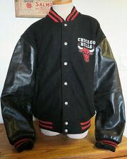 Vintage NBA Chicago Bulls varsity Jacket Carl Banks G-III LG sz M Michael Jordan