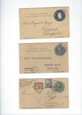 ARGENTINA-OLDER-POSTAL CARDS CARDS-USED-FINE-6 PIECES-#526