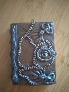 Homemade Horror Hocus Pocus Winifred Sanderson's Evil Spell Book Ornament