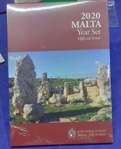 MALTA - KMS 2020  BU SET 5.88€  1 Cent bis 2 Euro + 2€ mit Mintmark F