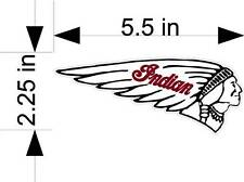 INDIAN MOTORCYCLE vehicle decals/stickers