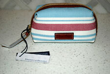 Nwt Dooney & Bourke small Cosmetic Case Sky Red