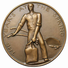 1958 Pippa's Song Society Of Medalists Medal #57 S.O.M. Medallic Art Co