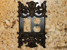 Rocker and Outlet Combo Switch Plate Decora Light Switch Wall Cover Decor NEW