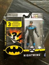 """Spin Master DC The Caped Crusader Nightwing 4"""" Figure"""