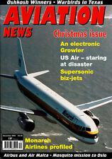 AVIATION NEWS 66/12 DEC 2004 EA-18G,Air Malta,EAAC,CAF Cavalcade,Olso,NBAA,News