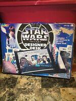1996 Star Wars Trilogy Designer Desk By RoseArt Rose Art Luke Skywalker Han Solo