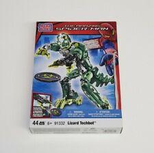 Mega Bloks The Amazing Spider-Man Set 91332 - Lizard Techbot - New