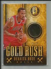 DERRICK ROSE 2013-14 PANINI GOLD STANDARD GOLD RUSH 14K #52 /20