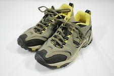 Merrell Woman's Accelerator Hiking Boots Khaki/Yellow Size US 6.5