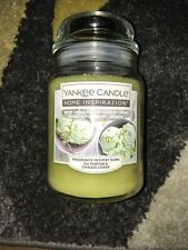 Yankee Candle Home Inspiration White Choc &pistachio Ice Cream ( New Other )
