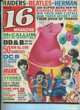 16 Magazine  Nov. 1966 Raiders Beachboys Monkees Stones DC5 Sally Fields   MBX89