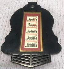 STAMPS 1994 RAILWAY TRAIN FIRST DAY COVER LTD ED IN UNIQUE TRAIN ENGINE FRAME