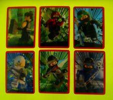 LEGO Ninjago Movie bonus Sticker tutti 6 completa 3d sticker adesivo Bonus