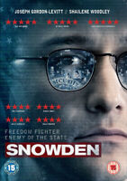 Snowden DVD (2017) Joseph Gordon-Levitt, Stone (DIR) cert 15 ***NEW***
