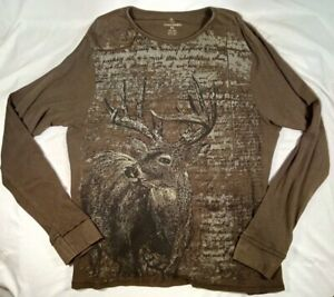 Browning Base Layer Top Mens XL Hunting Outdoors Deer Thermal