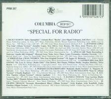 Special For Radio - Ricky Martin/Claudio Baglioni/Alexia/Filippo Trojani Cd Mint