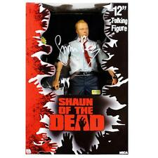 "SIMON PEGG SIGNED-12"" SHAUN OF THE DEAD TALKING ACTION FIGURE-NECA TOYS-NEW/OOP!"